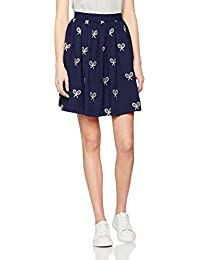 Pepa loves Rackets Skirt Navy, Falda Casual para Mujer