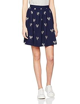 Pepaloves Rackets Skirt Navy, Falda Casual para Mujer