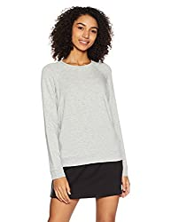 Forever 21 Womens Rayon Sweatshirt (00181220023_0018122002_HEATHER GREY_3_)