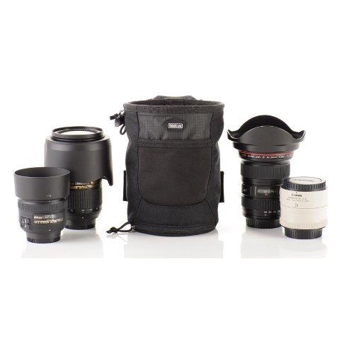 THINK TANK Lens Drop Umhängetasche, 75 cm, Schwarz (Negro) Think Tank Photo Lens