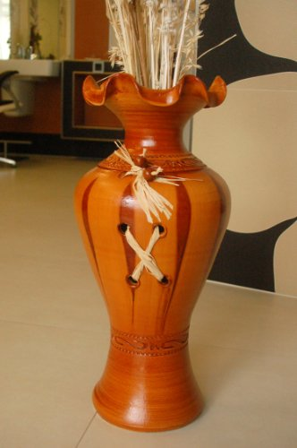 Preisvergleich Produktbild Deko-Shop-Hannusch Sehr edle große Vase / Bodenvase,  echte Handarbeit