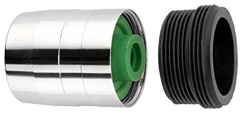 Cornat TECWD307880 Spar-Kalkwandler für Waschtisch/Sprültisch, chrom