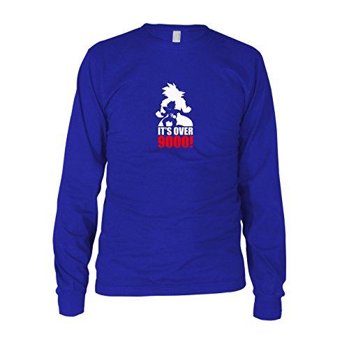 (DBZ: Transformation - Herren Langarm T-Shirt, Größe: M, Farbe: blau)
