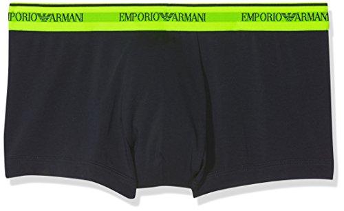 Emporio Armani Underwear Herren 1112108P717 Hipster, Mehrfarbig (Marine 27435), Large (erPack 2)
