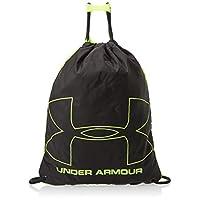Under Armour Unisex-Adult Gym Bag, Black/Lime Green - 1240539