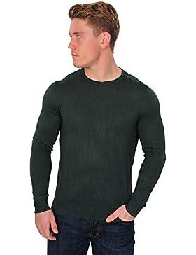 Zanone Suéter Hombre Verde normal algodón casual 52
