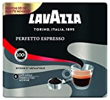 Lavazza Perfetto Espresso Café moulu Intensité 6 100% Arabica - 2 paquets de 250 g - lot de 2