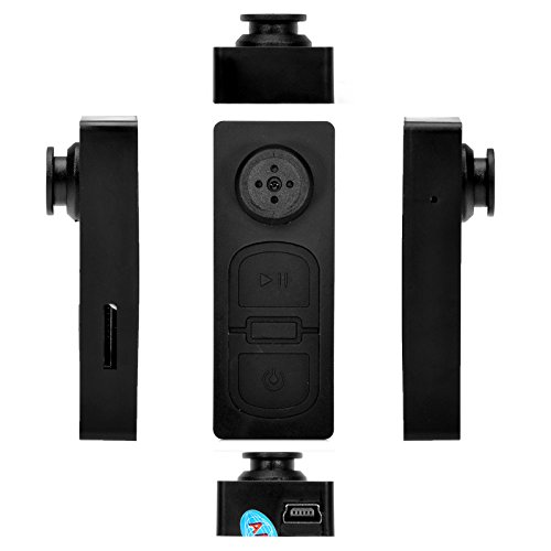 Mini DV espía botón cámara oculta DVR videocámara detectar CAM Video sonido disco