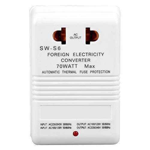 120-volt-schaltung (Spannungswandler - BiuZi 70W Set-Up/Down-Leistungstransformatoren, Zweikanalig, 110 V / 120 V / 220 V / 240 V Spannungswandlerstecker (CN-Standardstecker))