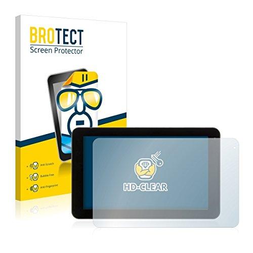 2X BROTECT HD Clear Bildschirmschutz Schutzfolie für Xoro TelePAD 9A1 Pro (kristallklar, extrem Kratzfest, schmutzabweisend)