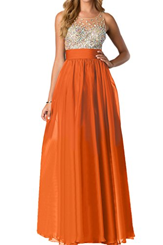 Missdressy - Robe - Trapèze - Femme Orange-1