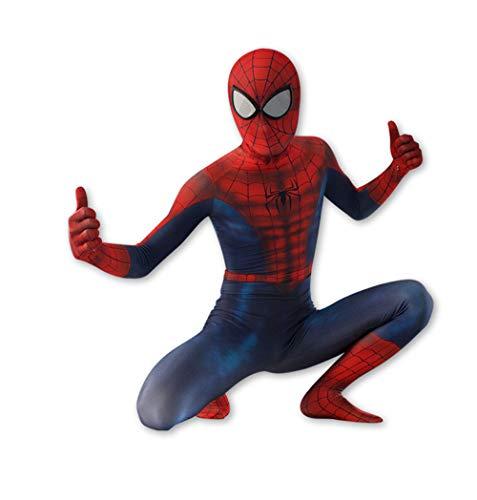 JUFENG Spider-Man Verband Strumpfhosen,atmungsaktives Sweatshirt Webcast Festivalfest ()