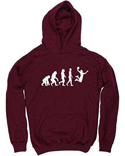 Hippowarehouse Evolución del Baloncesto Jersey Sudadera con Capucha suéter Derportiva Unisex niños...
