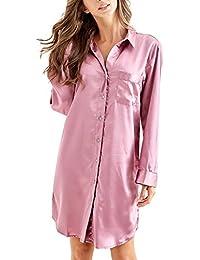 Amazon.co.uk  Pink - Nightdresses   Nightshirts   Nightwear  Clothing 9de81dad9