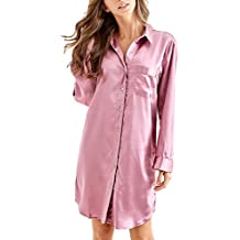 neuesten Stil Großbritannien Kostenloser Versand Suchergebnis auf Amazon.de für: Damen Satin-Nachthemd - Mit ...