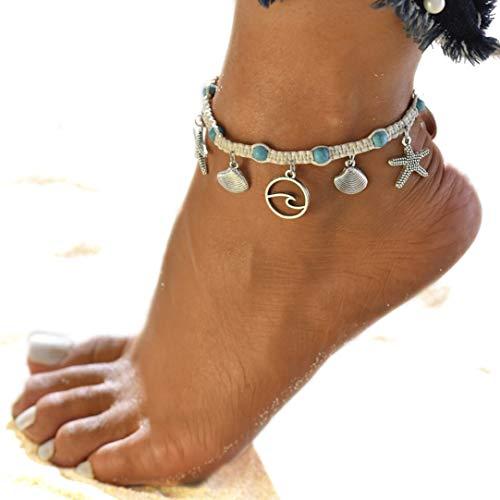 Sommer Strand Sandale Barfuß Ketten Fuß Armband Knöchel Kette Knöchel ()
