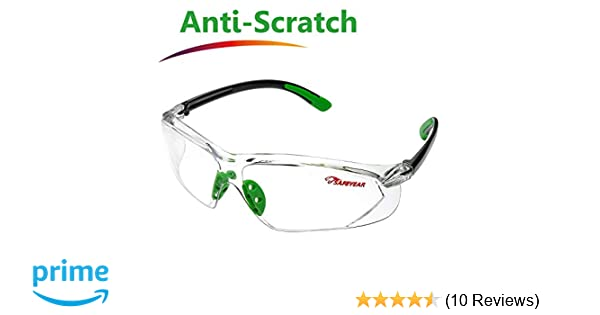 fc8e9e9d86 Safeyear Anti Scratch Safety Glasses  EN166 Certified - SG003 Anti Fog UV  Protection Safety Goggles For Mens   Women