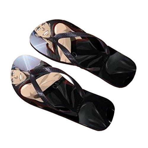 Bromeo Kuroko No Basuke Anime Unisex Flip Flops Zehentrenner Flip Pantoffeln 439