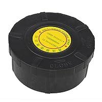WEONE Negro Carcasa de plástico de 25 mm Diámetro Rosca exterior del compresor de aire filtro de la toma Silenciador Silenciador