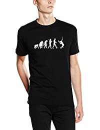 Shirtzshop – Camiseta Evolution Tenis I, unisex, T-shirt Evolution Tennis I, negro, XXXL