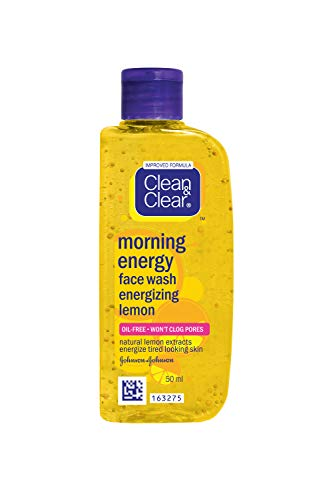 Clean & Clear Morning Energy Face Wash Energizing Lemon 50 ml -