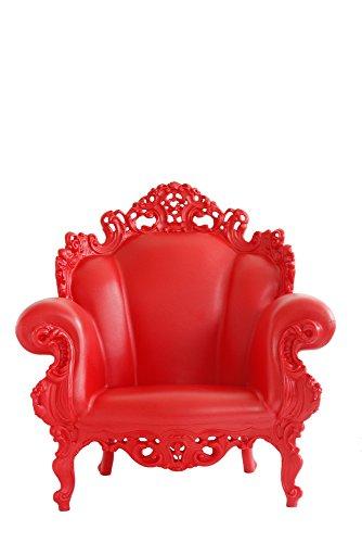 Magis Proust Sillón 90x 104x 105cm, Color Rojo Mate