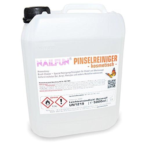 5 Liter Pinselreiniger im Kanister - 5000 ml Brush Cleaner für Pinsel und Werkzeuge