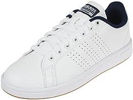 adidas Neo Cloudfoam Advantage CL Blanc, Baskets Mode Homme