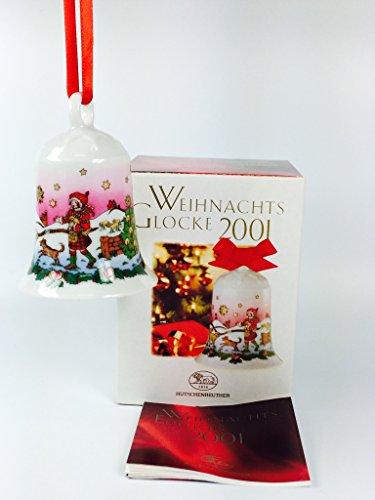 Hutschenreuther Porzellan Weihnachtsglocke 2001 in der Originalverpackung NEU 1.Wahl