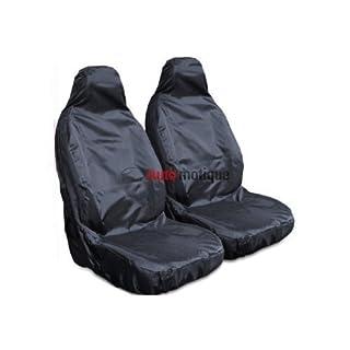 B (97-0) Heavy Duty schwarze wasserfeste Sitzbezüge 1-1