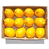ABCMOS Modelo de Alta simulación de Frutas y Verduras de Color Amarillo limón