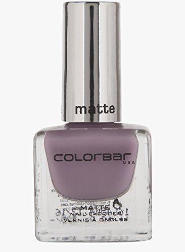 Colorbar Matte Nail Lacquer, Sweet Lilac-003, 12ml