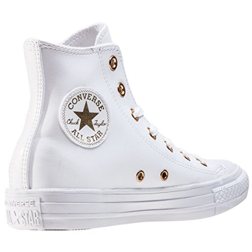 Converse All Star Hi Donna Sneaker Bianco White