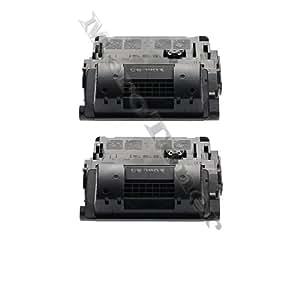 Lot de 2 Cartouches Toner Compatible pour HP CE390X CE 390X CE 390 X , 90X HP LaserJet Enterprise 600 M 602 DN (24.000 pages)