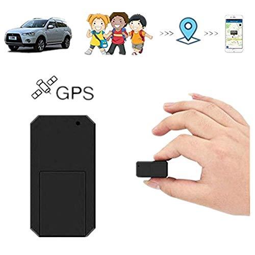 Hangang Mini GPS Tracker Localizador GPS Rastreador GPS Antirrobo de SMS Seguimiento en Tiempo Real para Coche Vehículos Moto Bicicletas Niños Billetera Documentos