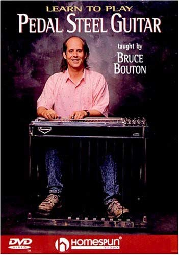 Bruce Bouton: Learn To Play Pedal Steel Guitar (Dvd) (Pedal-steel-dvd)