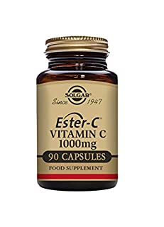 Solgar Ester-C 1000 mg Vitamin C Capsules - Pack of 90 (B00CREMXSE) | Amazon price tracker / tracking, Amazon price history charts, Amazon price watches, Amazon price drop alerts