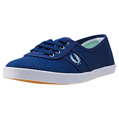 Fred Perry Aubrey Twill French Navy White Blue