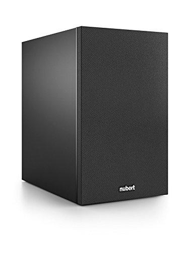 Nubert nuBox 313 Kompakt-/Regallautsprecher 2-Wege (15,0 cm Tieftöner, 2,5 cm Hochtöner, 110/140 Watt, 60-22000 Hz), Stück, Schwarz/Schwarz