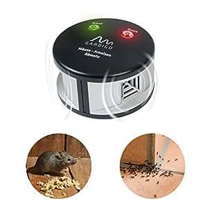 Gardigo Mäuse-Ameisenabwehr Duo Ultraschall & Druckwellen gegen Ungeziefer ohne Gift, Ungezieferabwehr