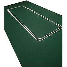 Tapete de póquer (fieltro, tamaño grande, 1,82 m)