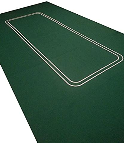 NEW THICKER LARGE POKER CASINO FELT BAIZE LAYOUT - TEXAS HOLDEM