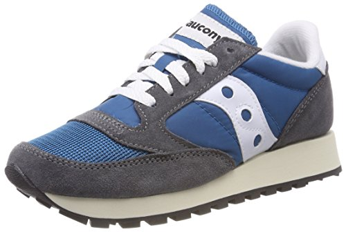 Saucony Jazz O Vintage, Zapatillas de Gimnasia para Mujer, Azul (Castlerock/Teal 28), 36 EU