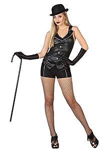 Atosa 26429 - Cabaret, señoras traje, tamaño 38/40, negro
