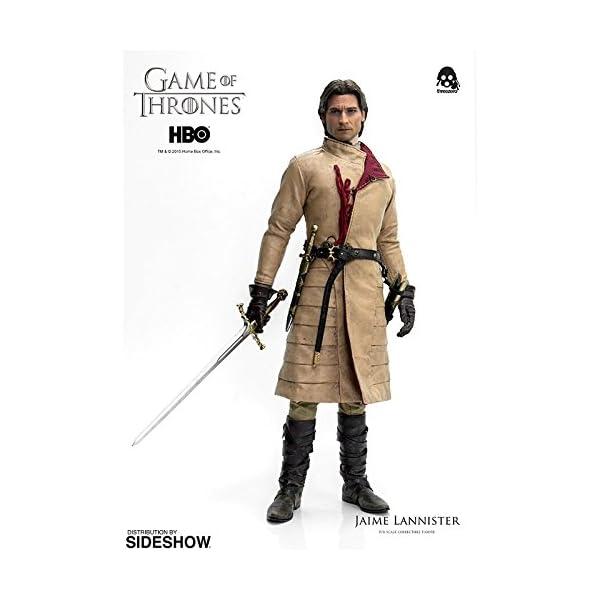 Figura de colección Three Zero Game of Thrones: Jaime Lannister (1/6) 7