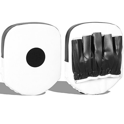 Lions Curved Focus Pads Hook /& Jabs Gloves Punch Bag Mitts Boxing MMA Kick Training