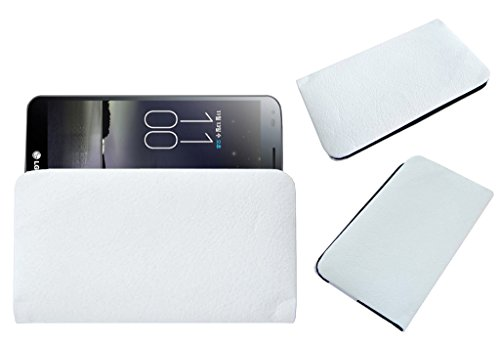 Acm Rich Leather Soft Case For Lg G Flex D958 Mobile Handpouch Cover Carry White  available at amazon for Rs.329