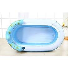 Sunjun& Inflated Bathtub Thicker erwachsene Badewanne Falte Badewanne Kinder Waschbecken Kunststoff Badfässer