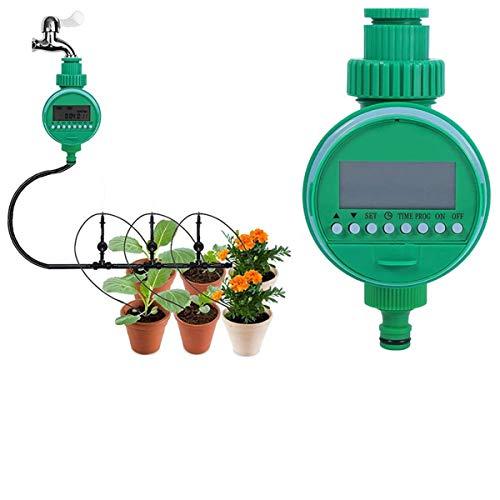 Automatische Wasser-timer (Buycitky Bewässerungsuhr,Automatische Zeitschaltuhr Flexible Bewässerungsdauer Automatische zeitsparende Bewässerung Leichtes Anschließen Elektronische Wasser Timer für Garten Pflanz)