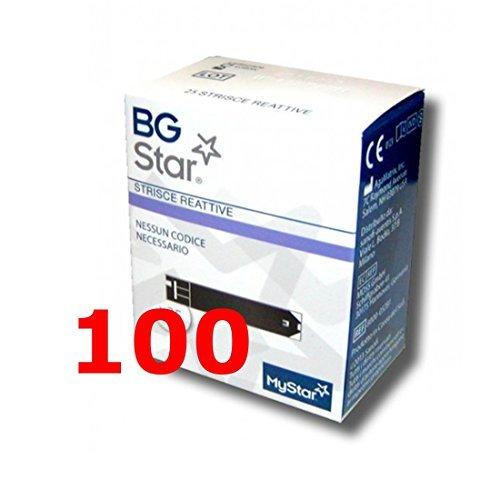 IBGSTAR - 100 Tiras Reactivos per il Control de Glucemia - BG STAR MYSTAR